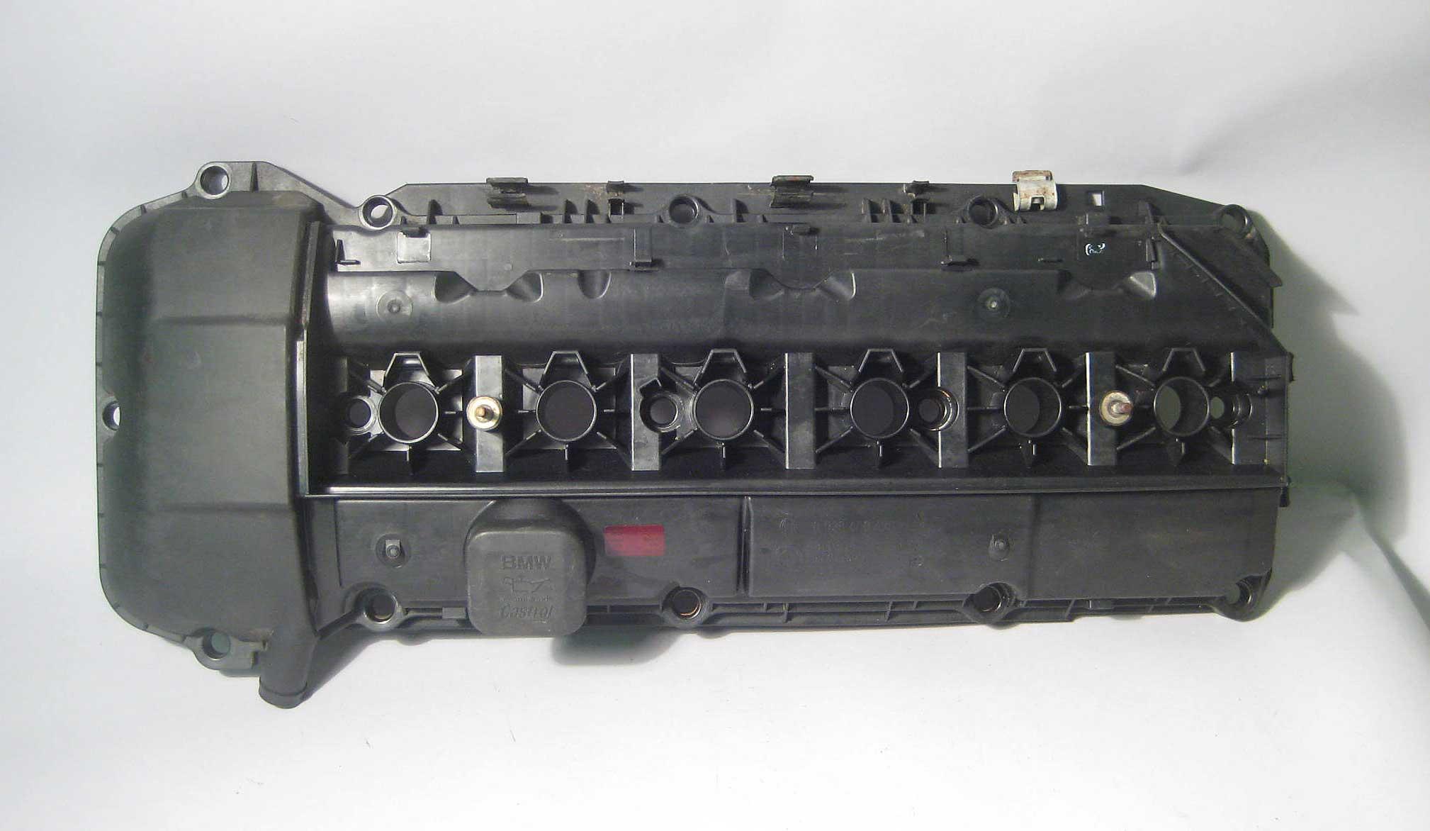Bmw m54 engine valve cover 2003 2006 e39 e46 e60 e85 z4 x5 oem used
