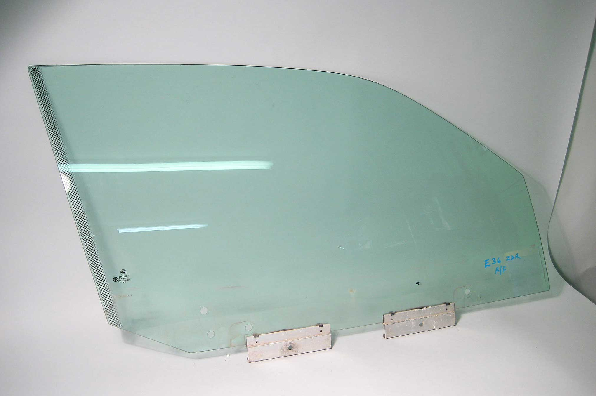 Bmw E36 2dr Coupe Right Front Passenger Window Glass 1995