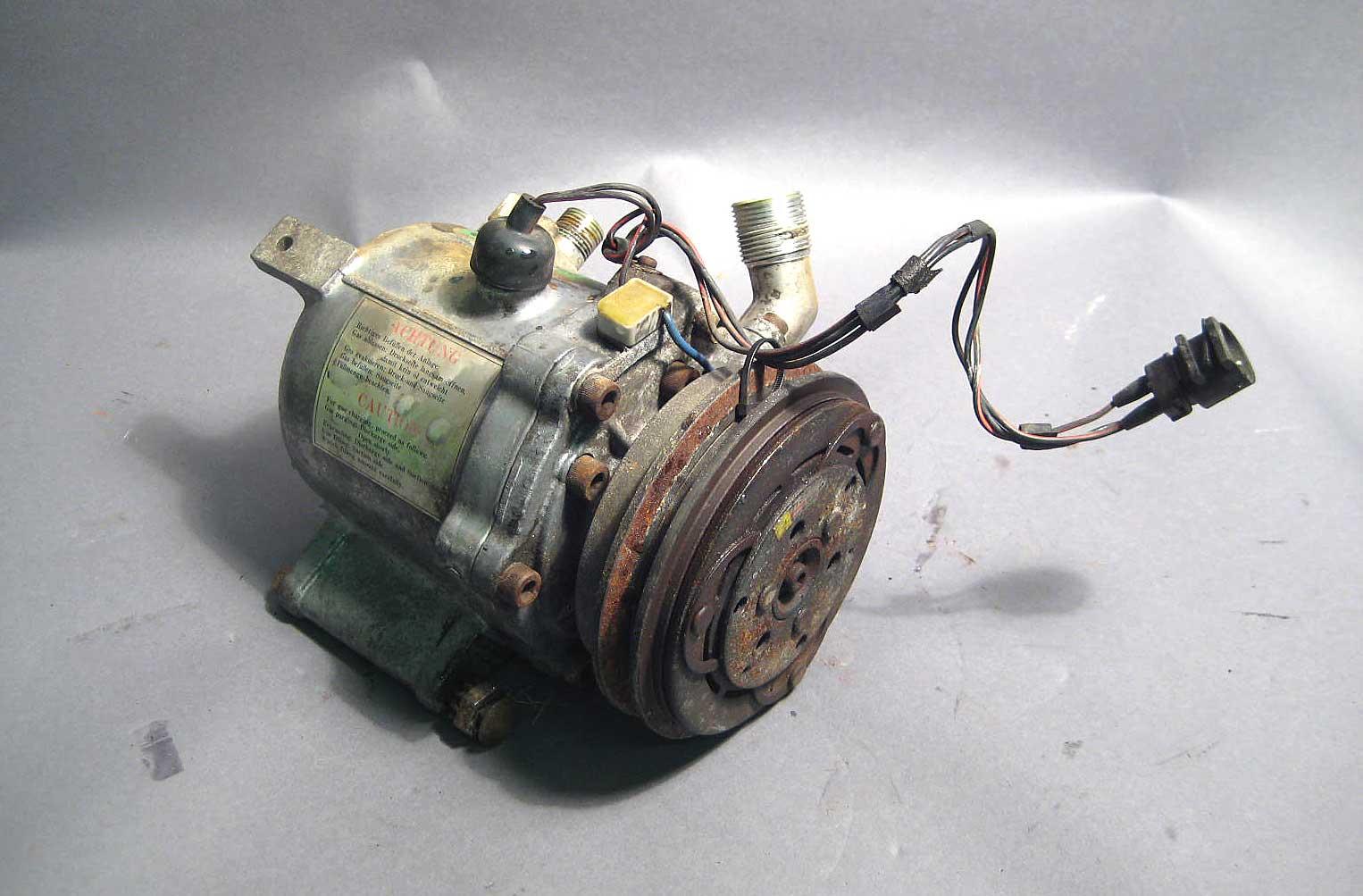 Bmw E30 Compresor De Ca Seiko 3 Cables R 12 84 91 318i 325e 325is M3 1999 528i Ac Wiring Compressor Wire E28 528e 535i