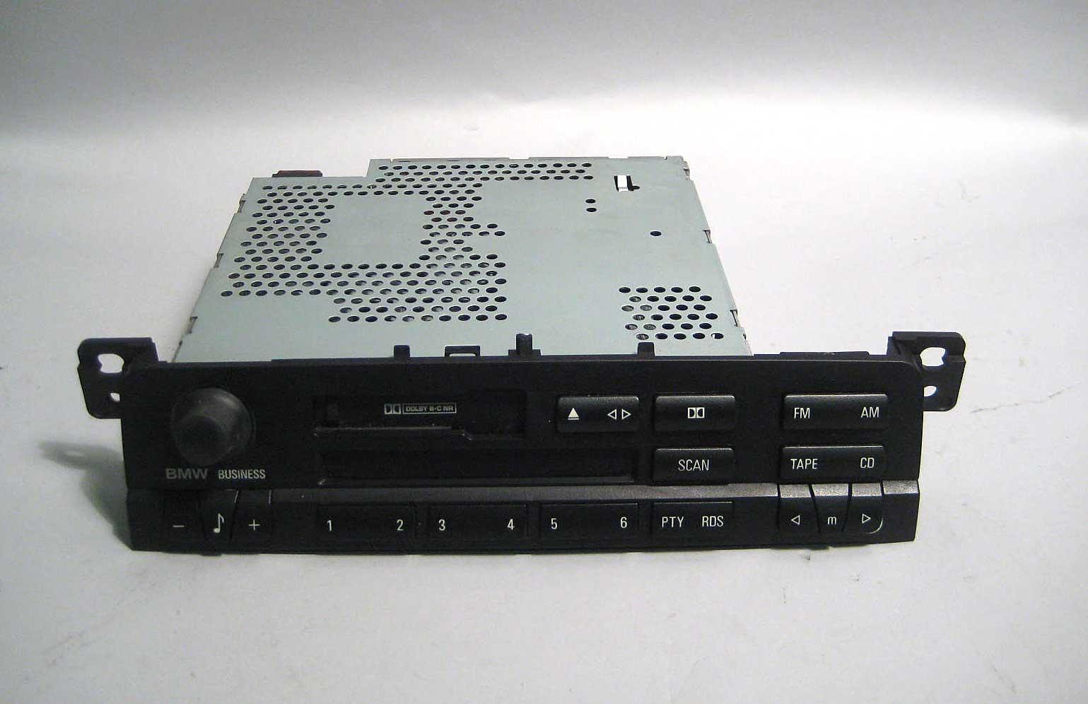 bmw e46 3 series factory business cassette radio head unit. Black Bedroom Furniture Sets. Home Design Ideas