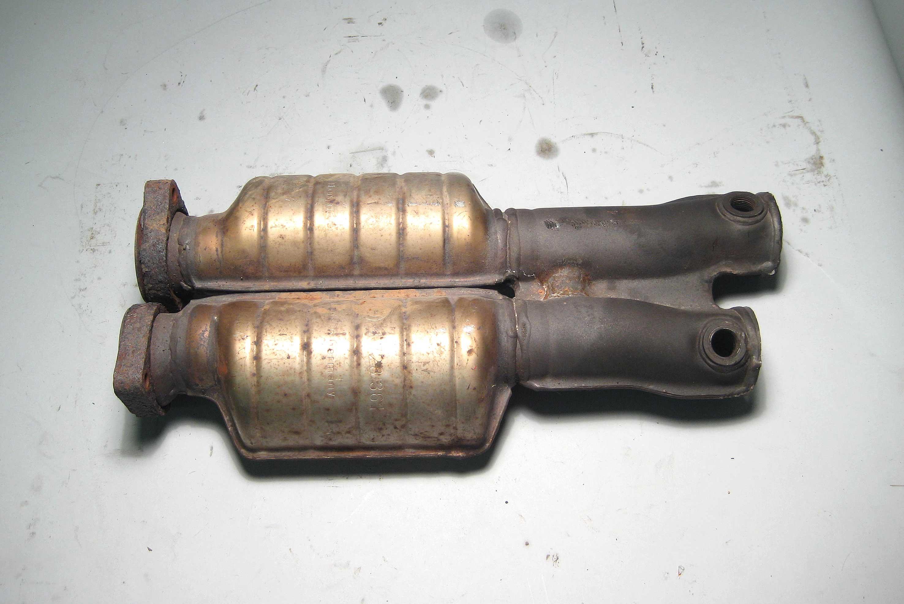 Bmw Z3 M3 2 S52 Exhaust Midpipe Resonators W Flange 1998