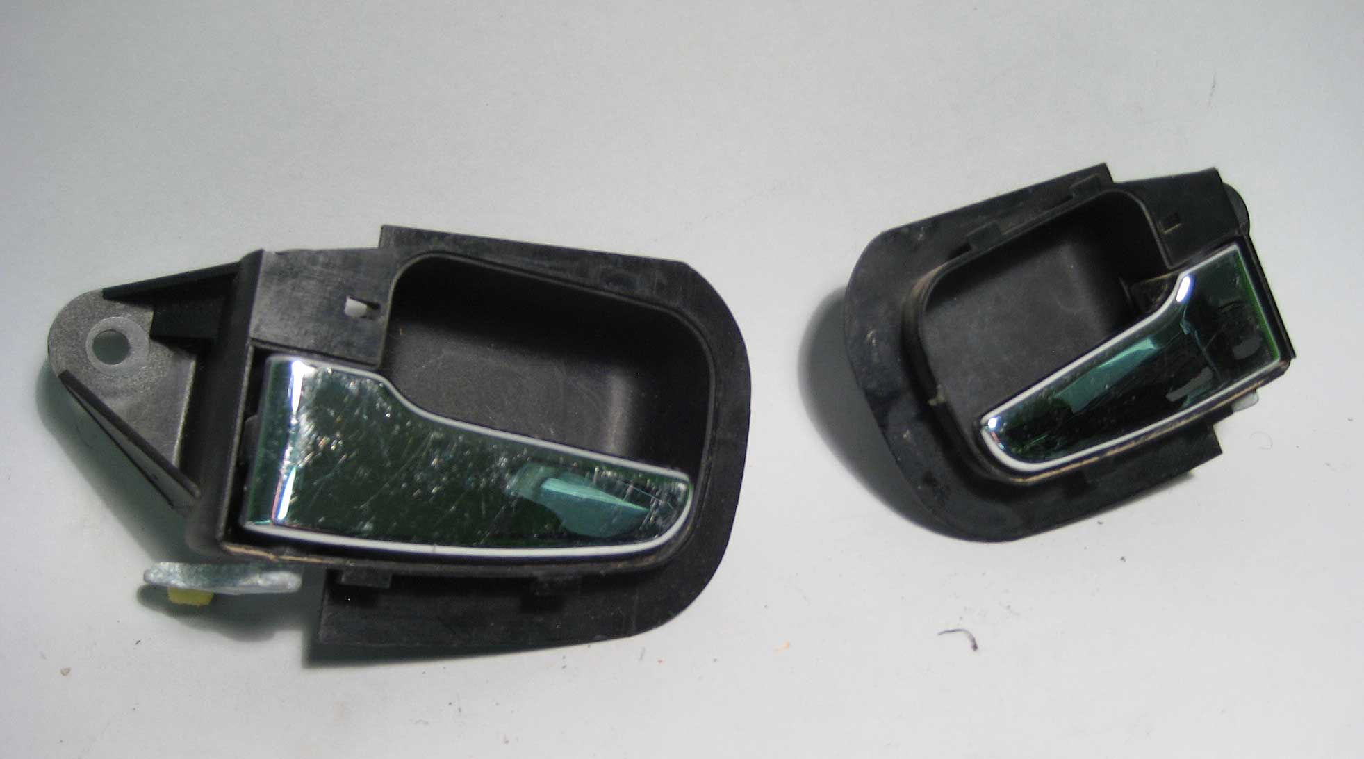 Bmw E36 Z3 Chrome Interior Door Handle Set Used Oem 1992