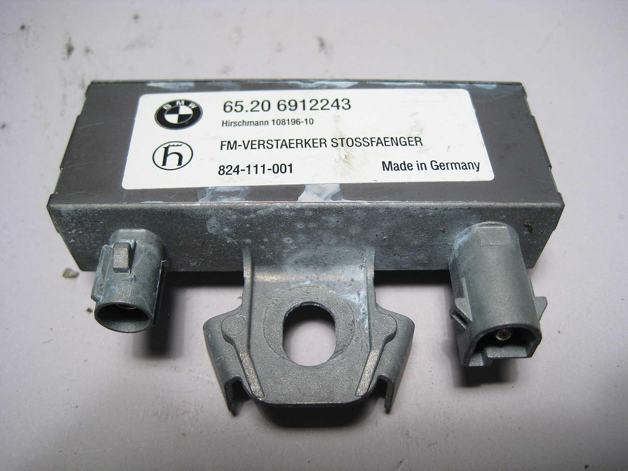 Used Bmw Z4 >> BMW E85 Z4 Radio FM Bluetooth Antenna Amplifier Set 2001 ...