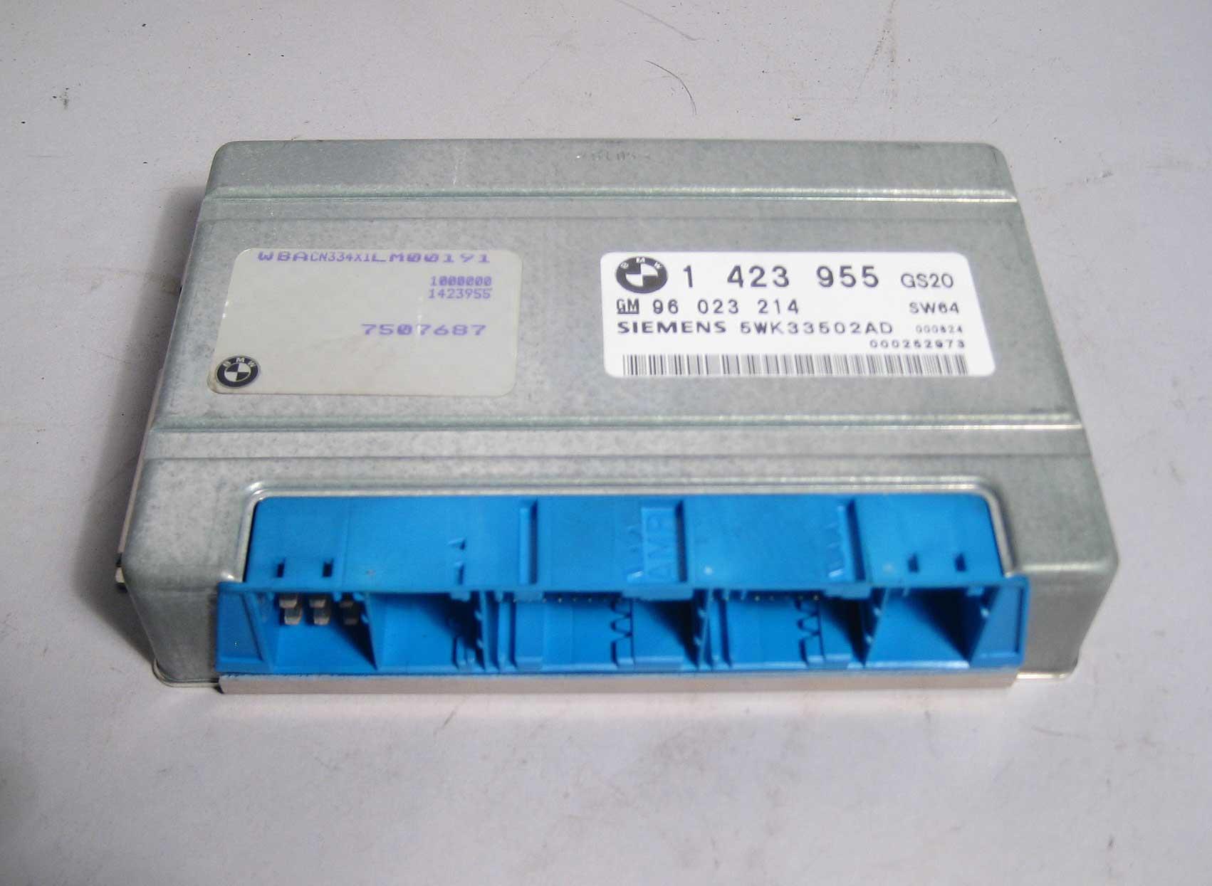 Bmw Z3 Automatic Transmission Control Module Sw64 Gs20