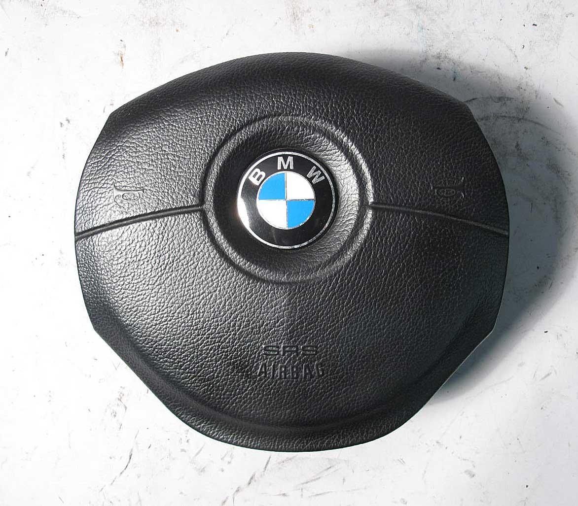Bmw Z3 Emblem Replacement: 1999-2002 BMW Z3 M Sport Steering Wheel Airbag W Emblem
