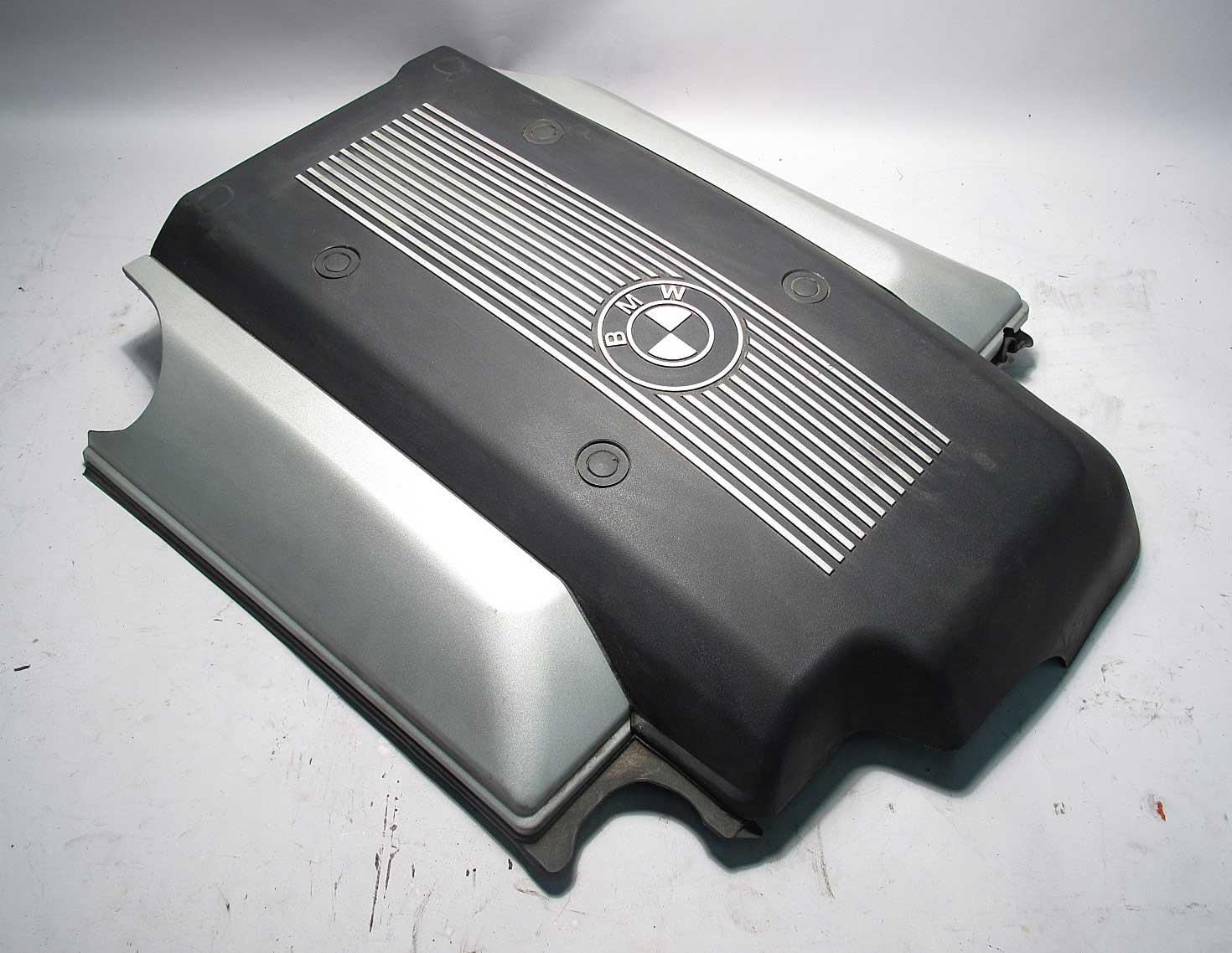 bmw e39 5 series 540i plastic engine cover v8 m62 1999. Black Bedroom Furniture Sets. Home Design Ideas
