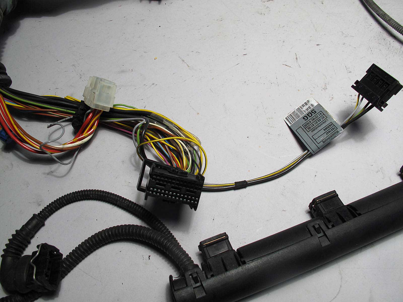 bmw e46 m3 ///m s54 engine wiring harness complete 2001 ... bmw m60 engine wiring harness diagram