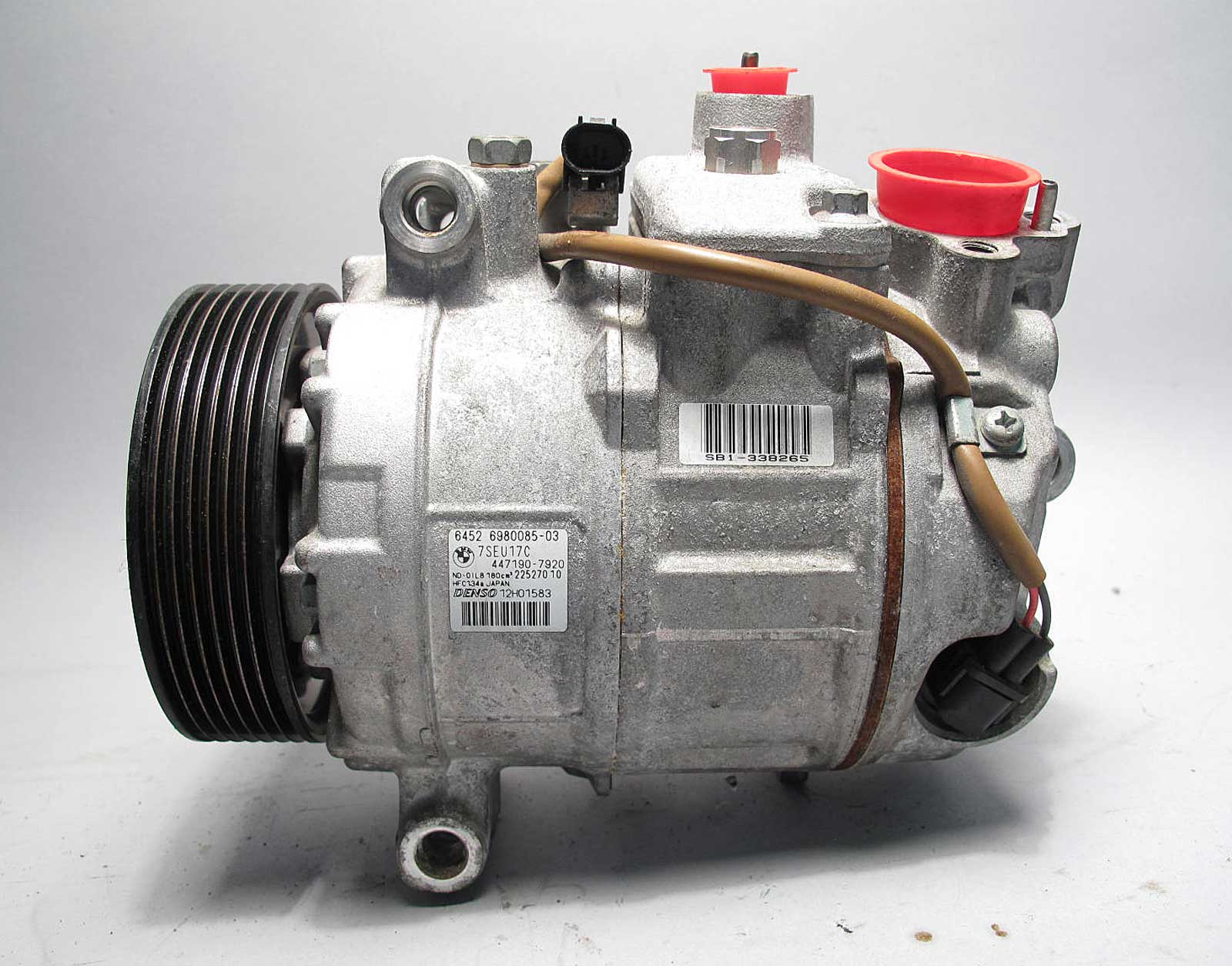 Bmw E60 535i 535xi Ac Air Conditioning Compressor Pump