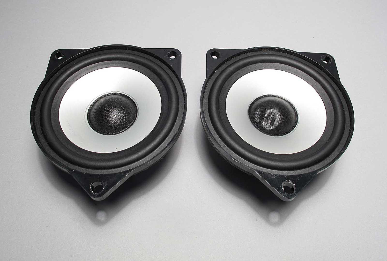 Bmw Z4 X3 Top Hifi Dsp Audio Mid Range Door Speaker Driver Pair 2003 2008 Used Ebay