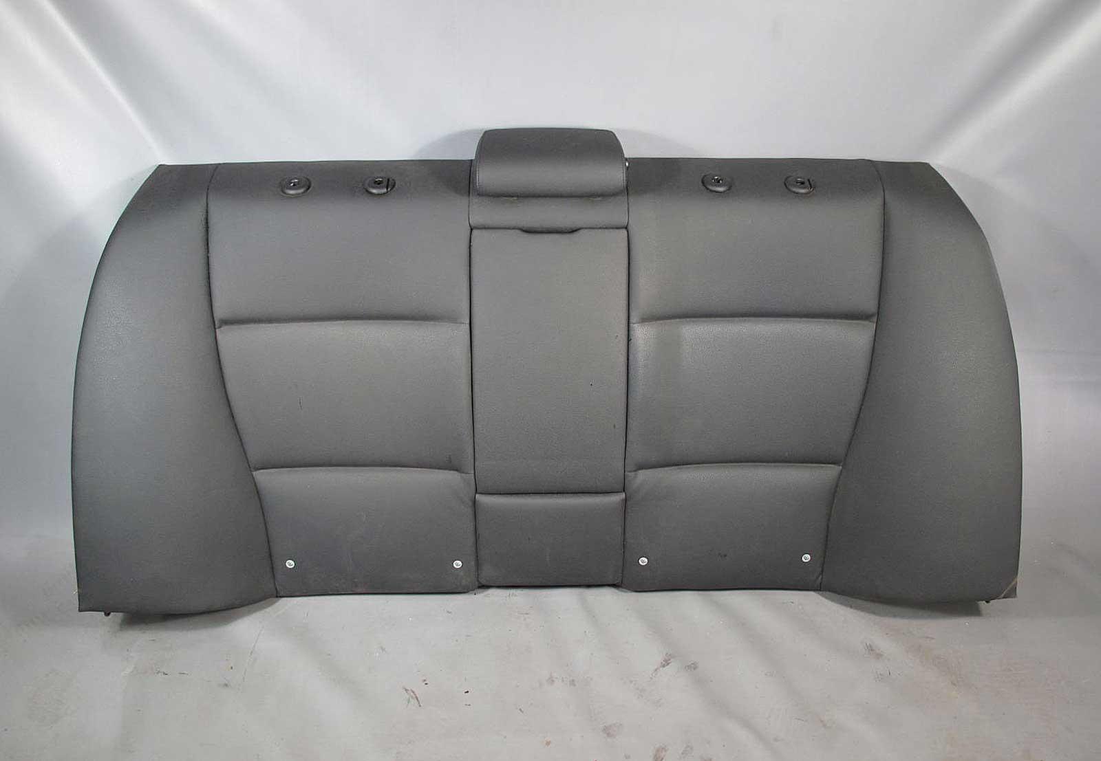 bmw e90 3 series sedan rear seat back rest black sensatec. Black Bedroom Furniture Sets. Home Design Ideas