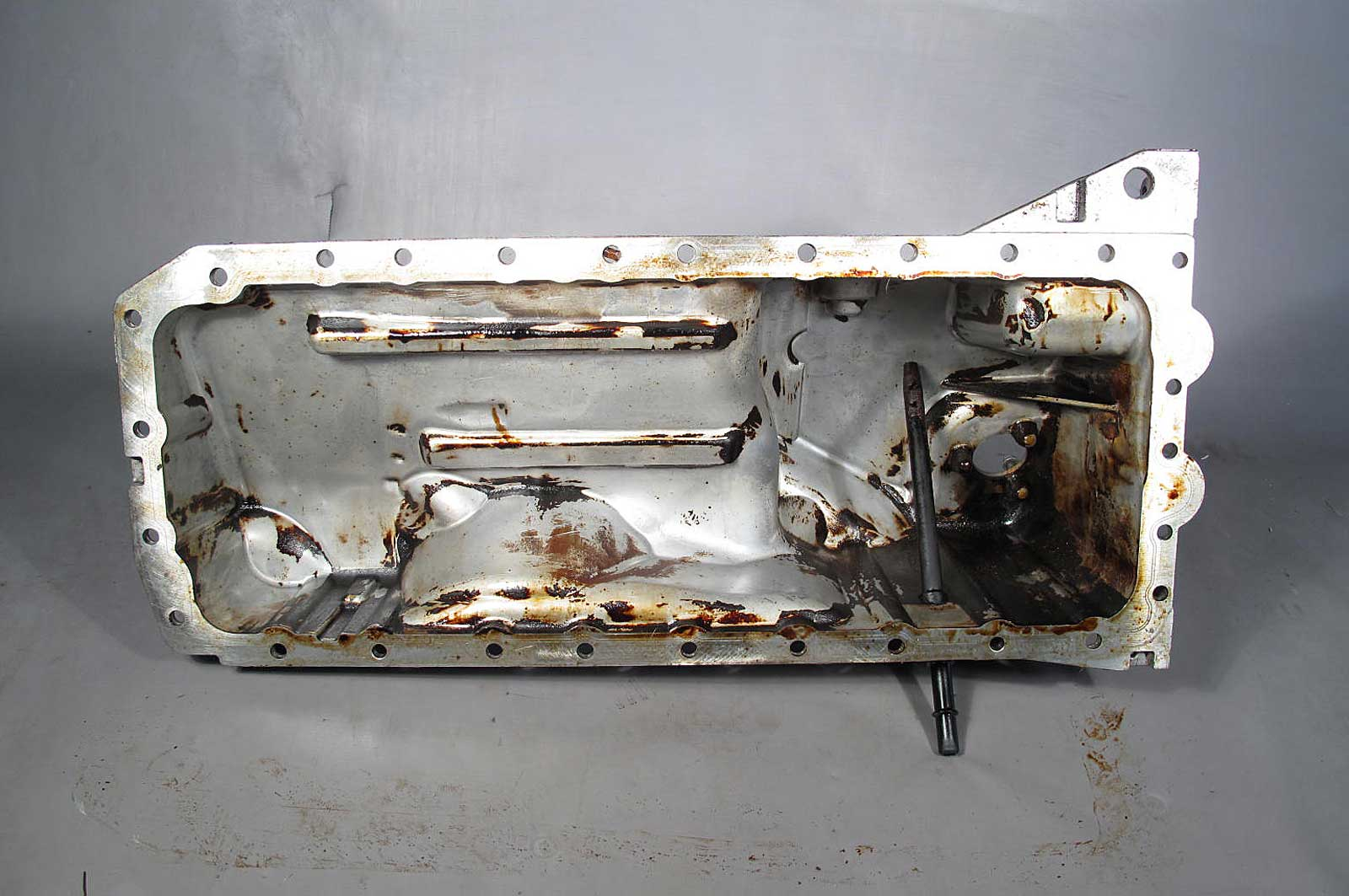 2006 bmw n52 6 cyl early aluminum engine oil pan for. Black Bedroom Furniture Sets. Home Design Ideas