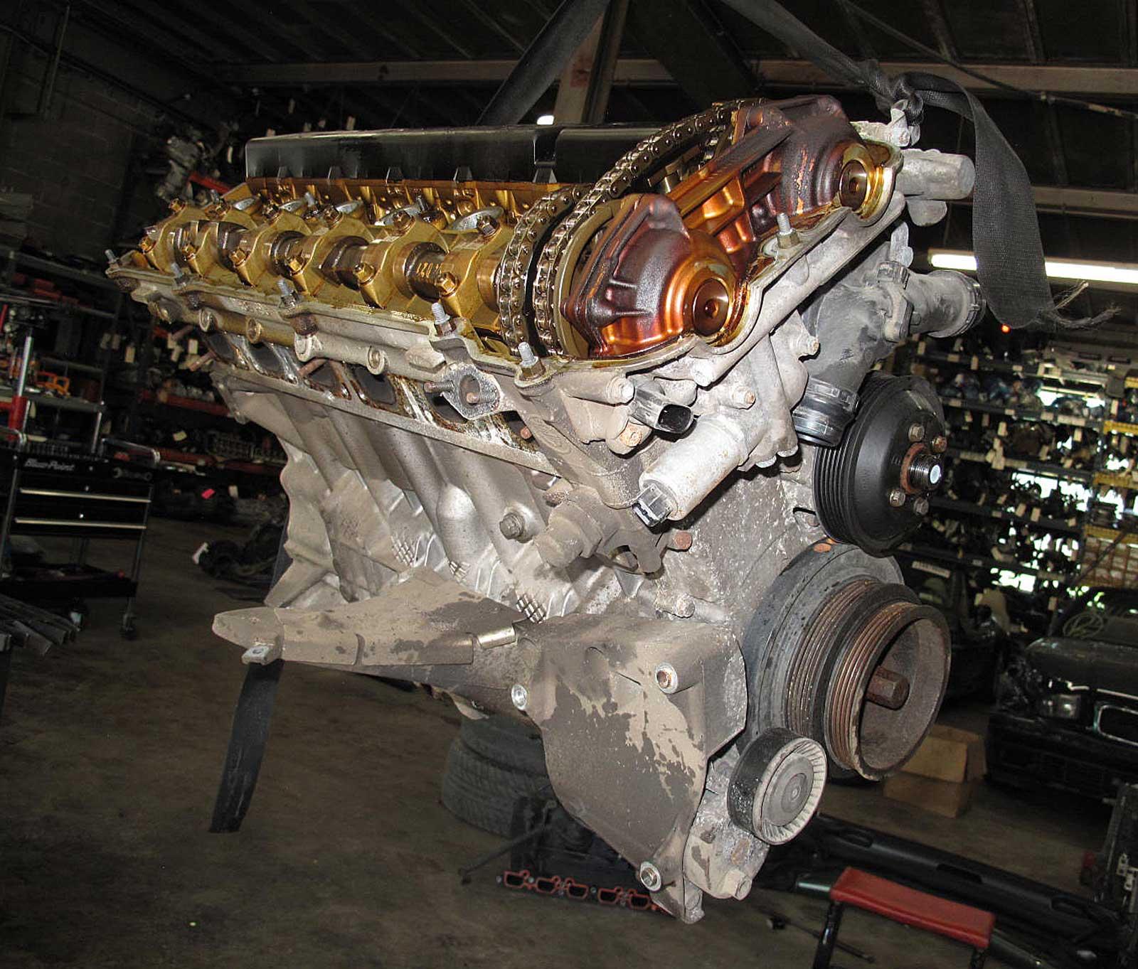 Bmw Z 3: BMW Z3 2.5i Roadster M54 I6 Engine Longblock Assembly