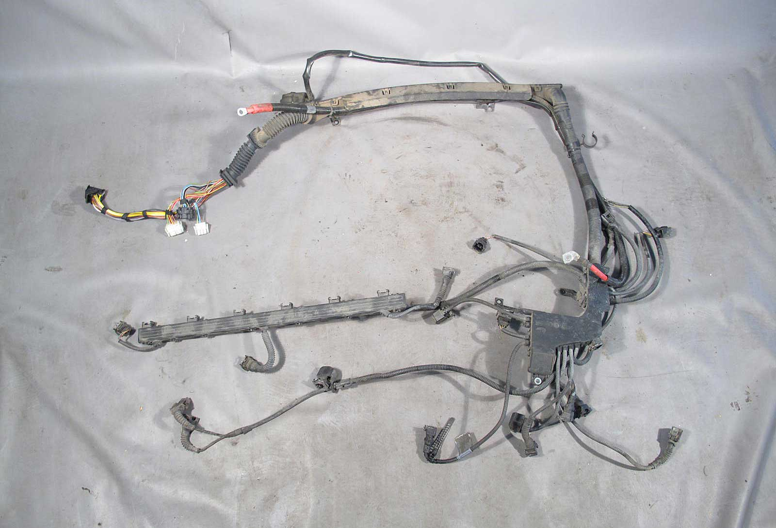 BMW Z3 Roadster Coupe 25i 30i M54 Engine Wiring Harness Auto 2001