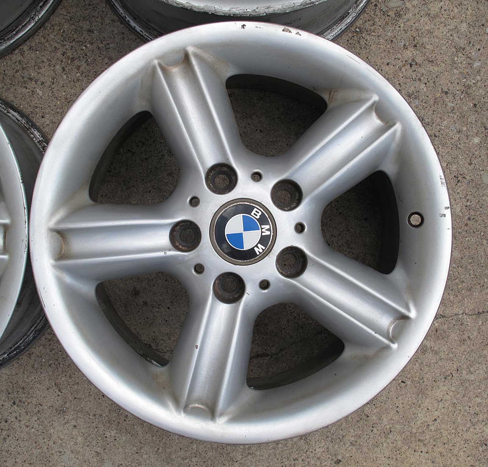 "Bmw Z 3 For Sale: BMW E36 E46 Z3 16"" 16x7 Style 55 Star 5 Spoke OEM Alloy"