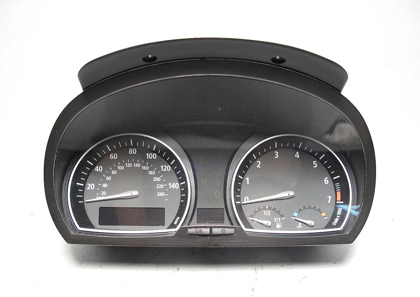 bmw e83 x3 sav auto trans instrument gauge cluster panel speedo tach 2004 2006 ebay. Black Bedroom Furniture Sets. Home Design Ideas
