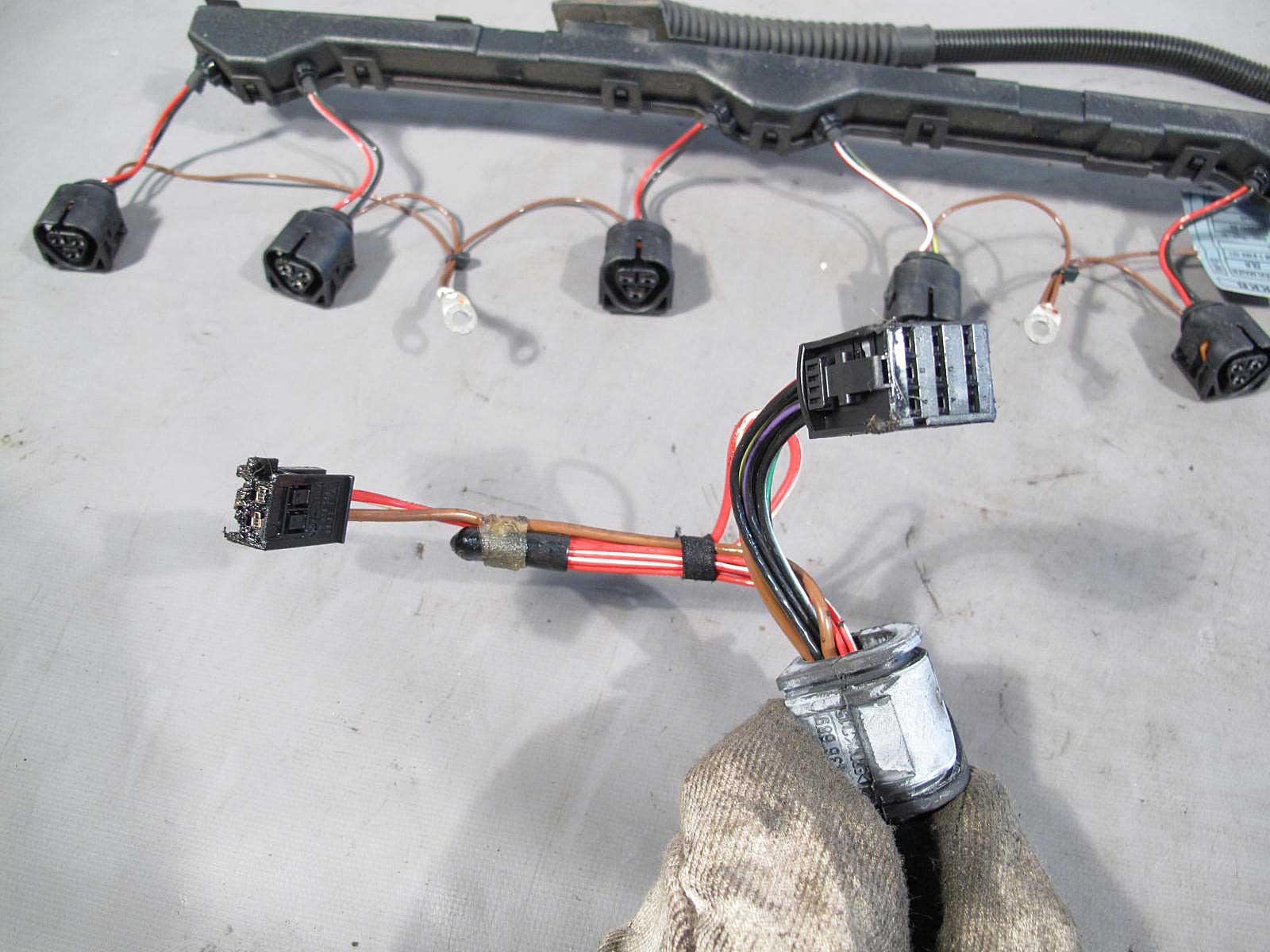 bmw e83 x3 sav m54 2 5i 3 0i engine ignition coil wiring harness 2004 BMW X3 3.0L White  BMW X3 White 2004 BMW 335I Convertible 2004 BMW SUV