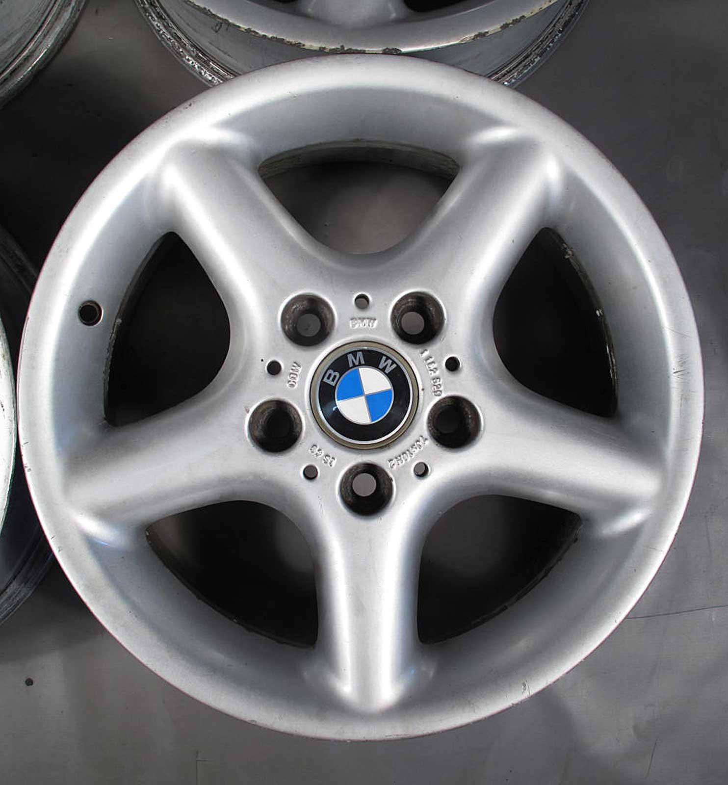 """Bmw Z3 Oem Parts: BMW E36 Z3 Factory 16"""" 16x7 Style 18 5-Spoke OEM Wheel Rim"""