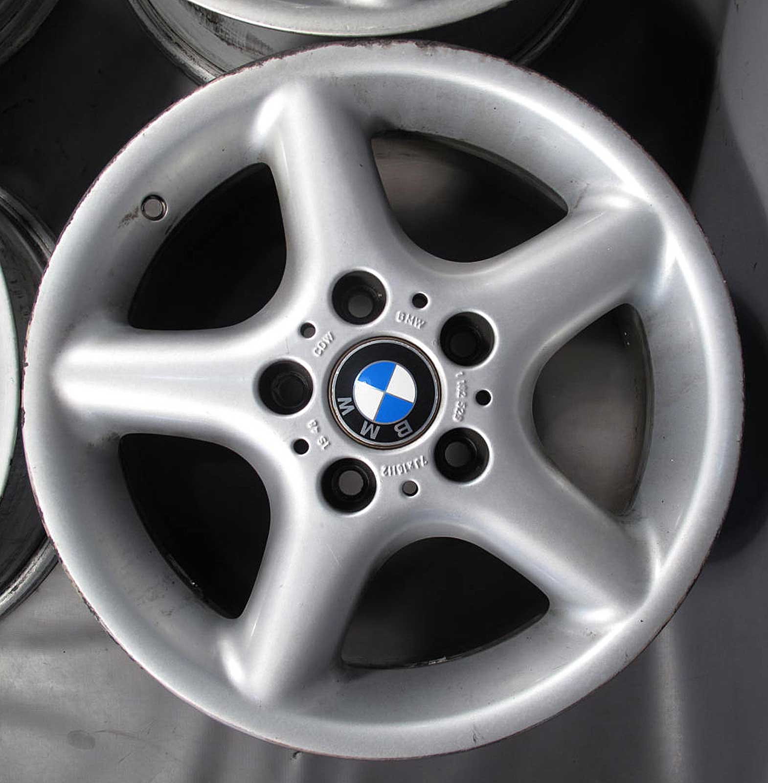 Bmw E36 Z3 Factory 16 Quot 16x7 Style 18 5 Spoke Oem Wheel Rim