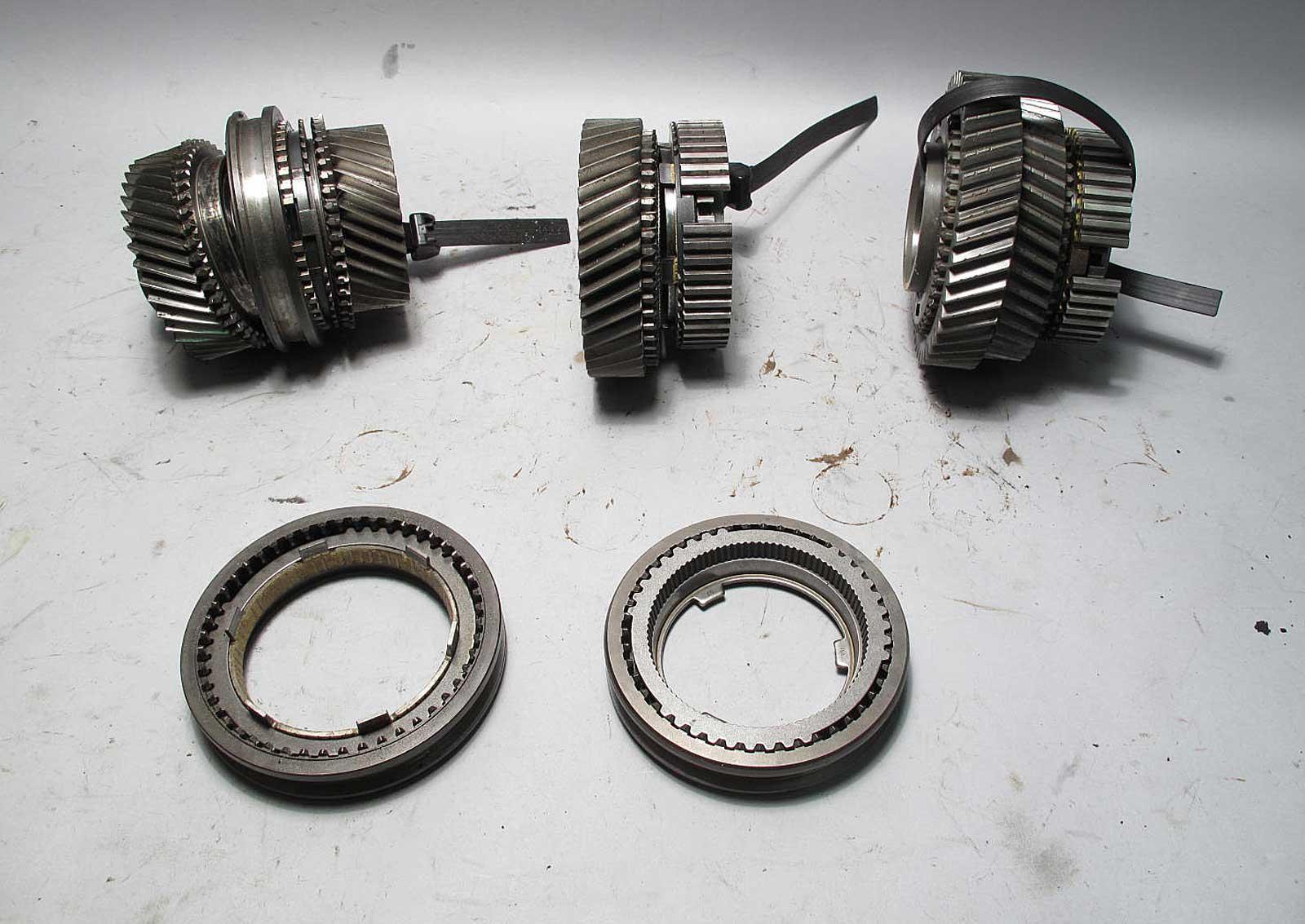 Bmw Zf S5d 320z Manual Transmission Rebuild Parts Gears
