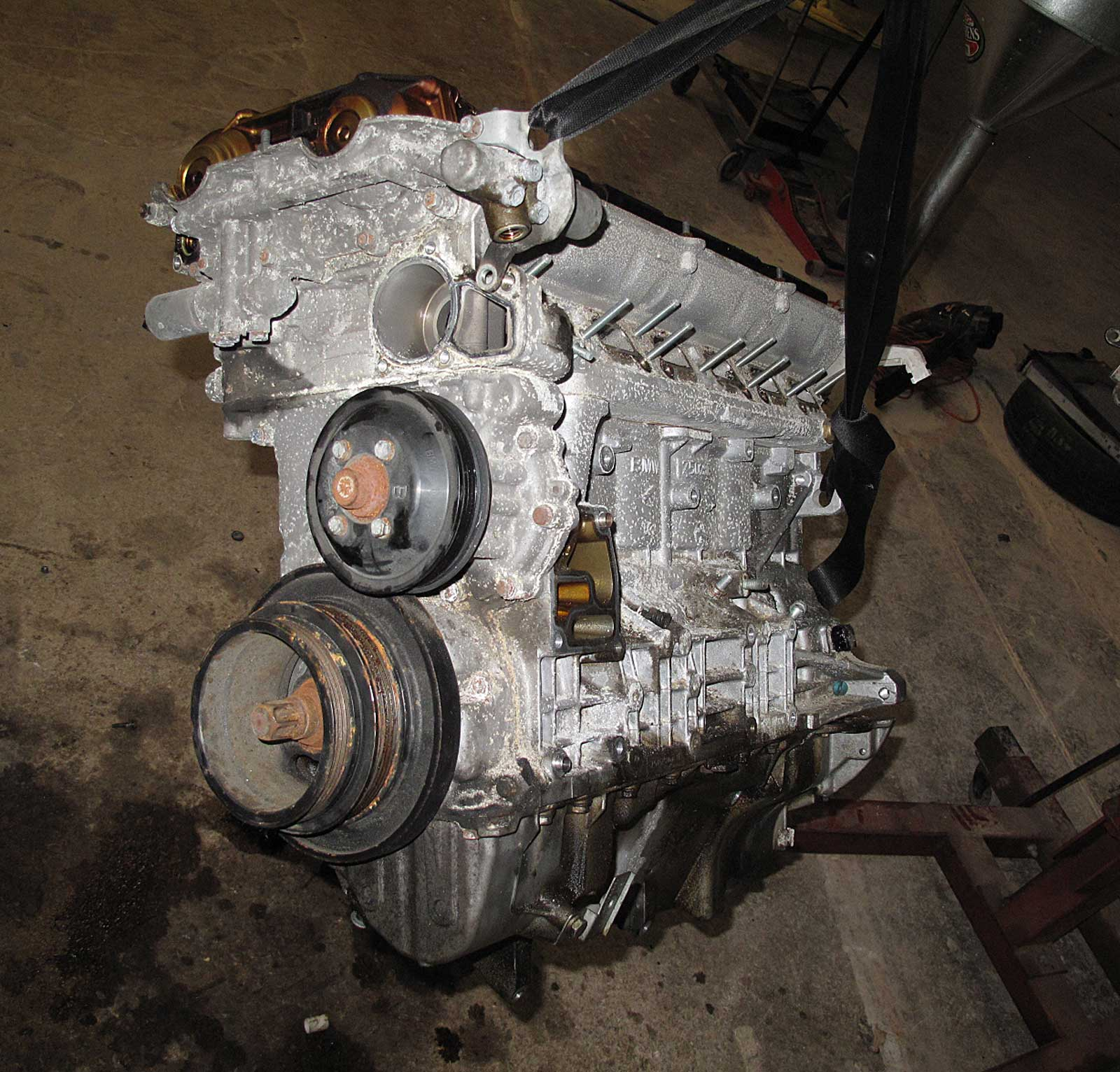 bmw e46 325xi x3 2.5l m54 6-cylinder longblock engine ... 97 millenia 2 5 engine diagram bmw 325xi 2 5 engine diagram
