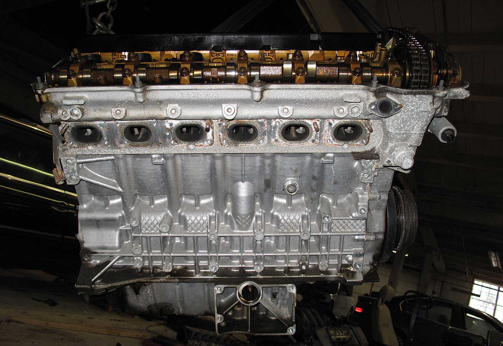 volkswagen jetta 2 5 engine diagram bmw e46 325xi x3 2.5l m54 6-cylinder longblock engine ... bmw 325xi 2 5 engine diagram