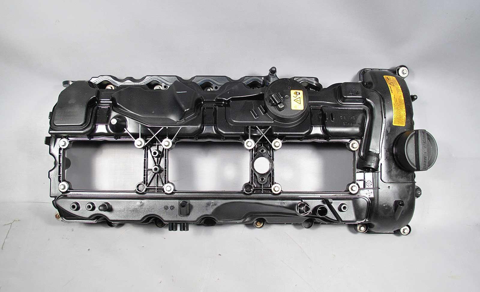 bmw n55 6 cylinder turbo cylinder head engine valve cover. Black Bedroom Furniture Sets. Home Design Ideas