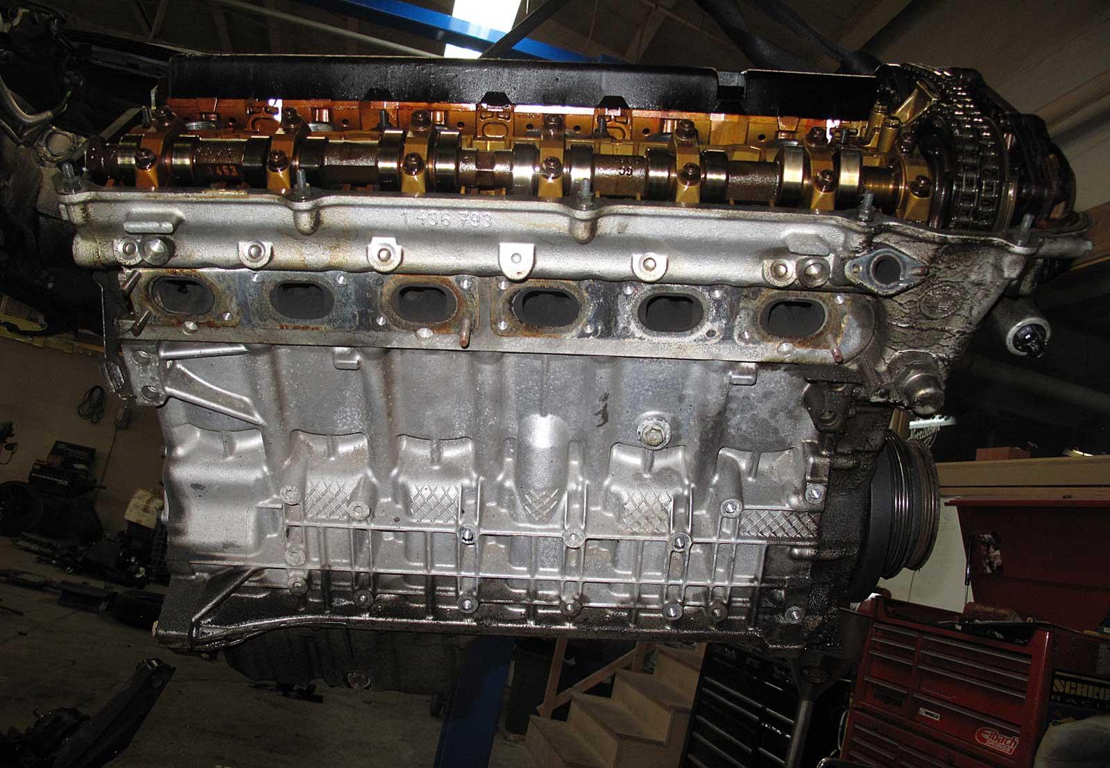 bmw e46 z3 2 5l m54 6 cylinder engine assembly 142k long. Black Bedroom Furniture Sets. Home Design Ideas