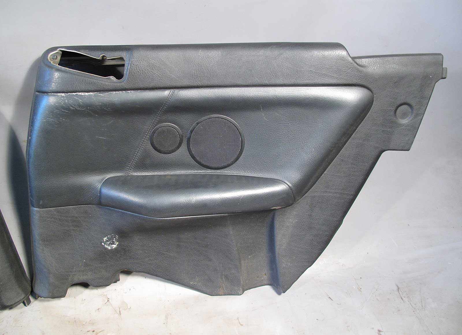 Bmw e36 3 series convertible rear interior trim panel pair black leather 1994 99 ebay for Mr trim convertible tops and interiors