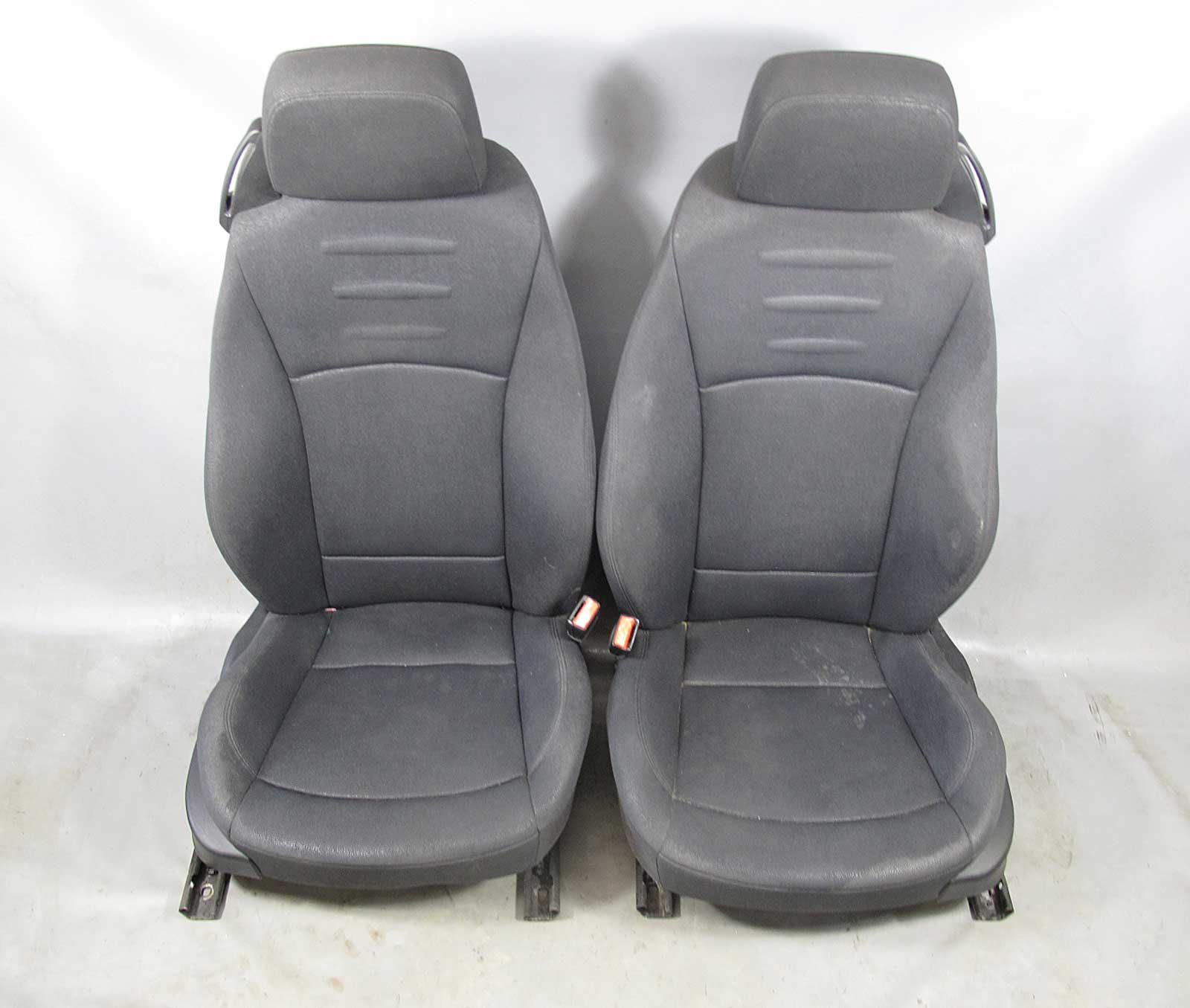 Bmw E85 Z4 Roadster Factory Front Seat Pair Black Sensatec