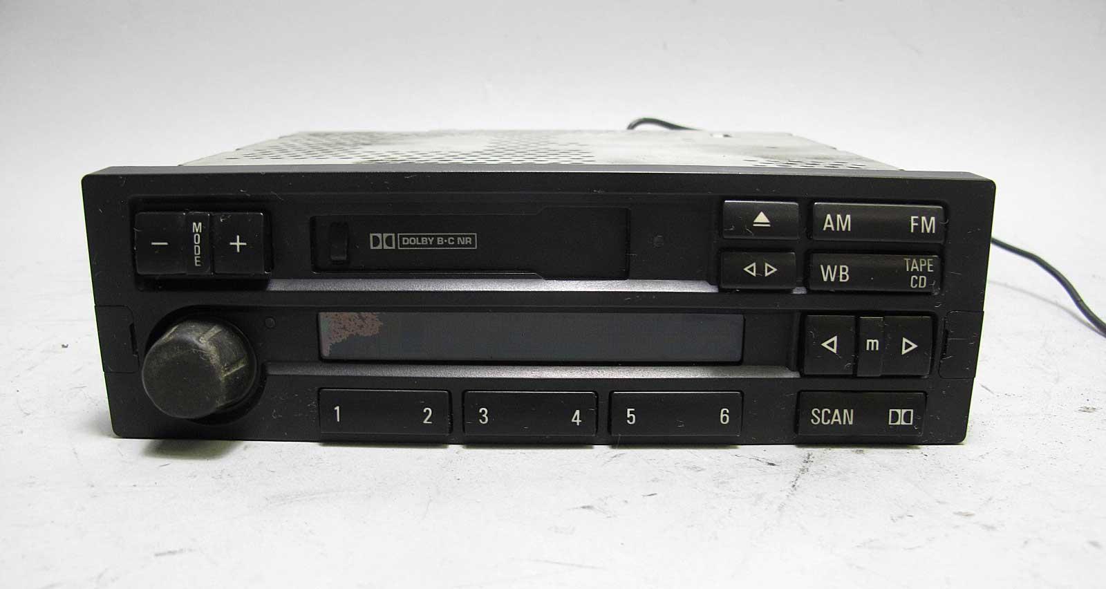 damaged bmw e36 3 series z3 factory c33 cassette tape. Black Bedroom Furniture Sets. Home Design Ideas