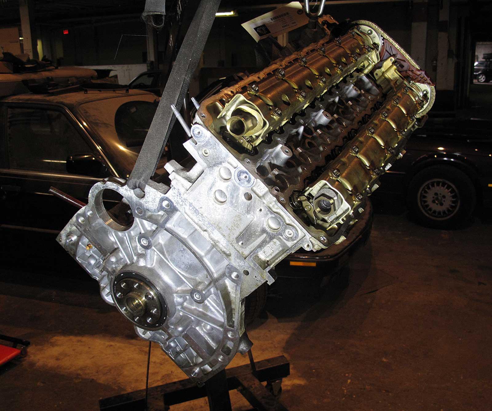 BMW E60 E61 535i XDrive AWD N54 Twin Turbo 6cyl Engine