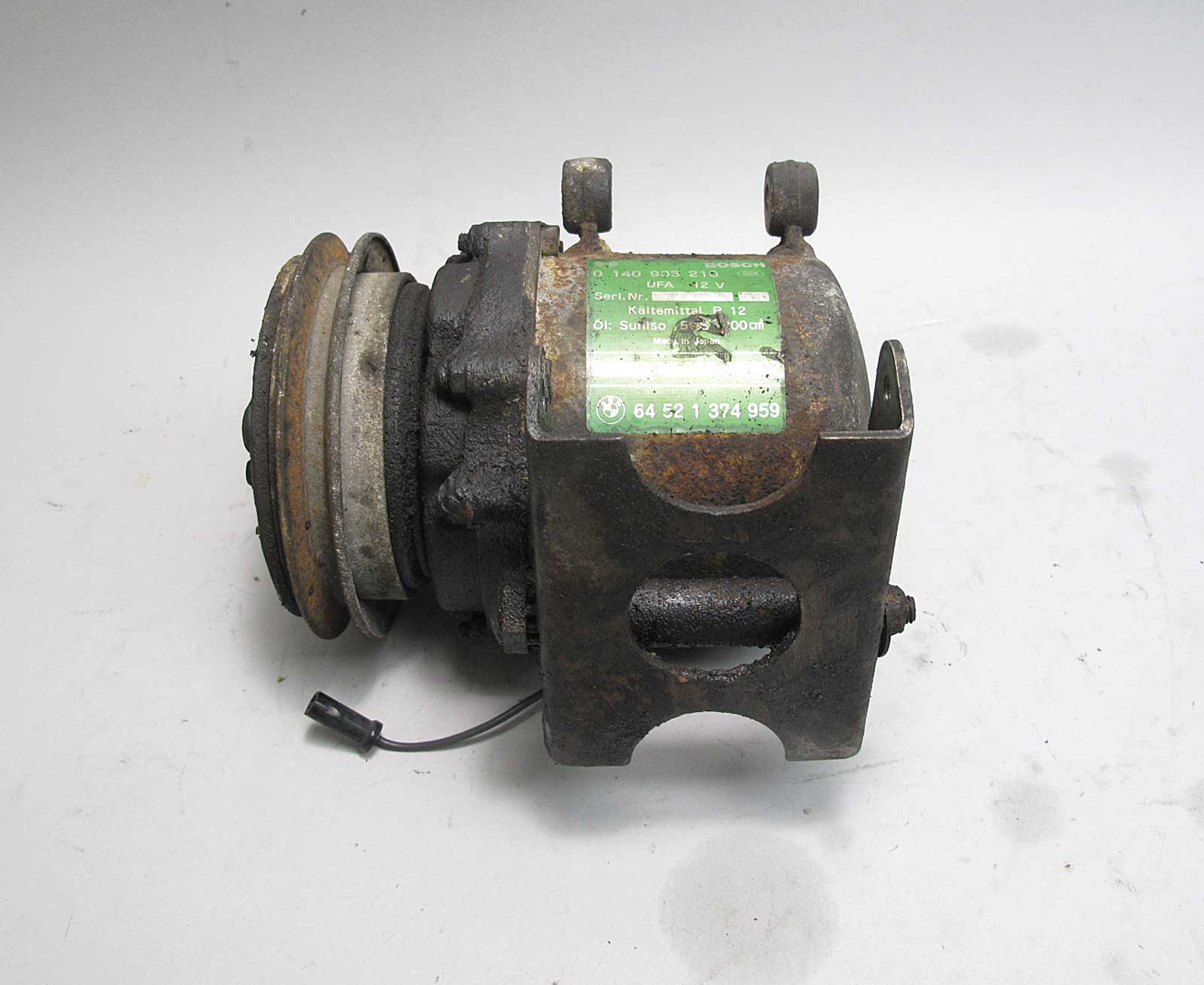 E30 Ac Compressor Wiring Schematics Diagrams E36 A C Diagram Bmw Bosch Behr Single Wire Pump E28 1982 2007 Eclipse