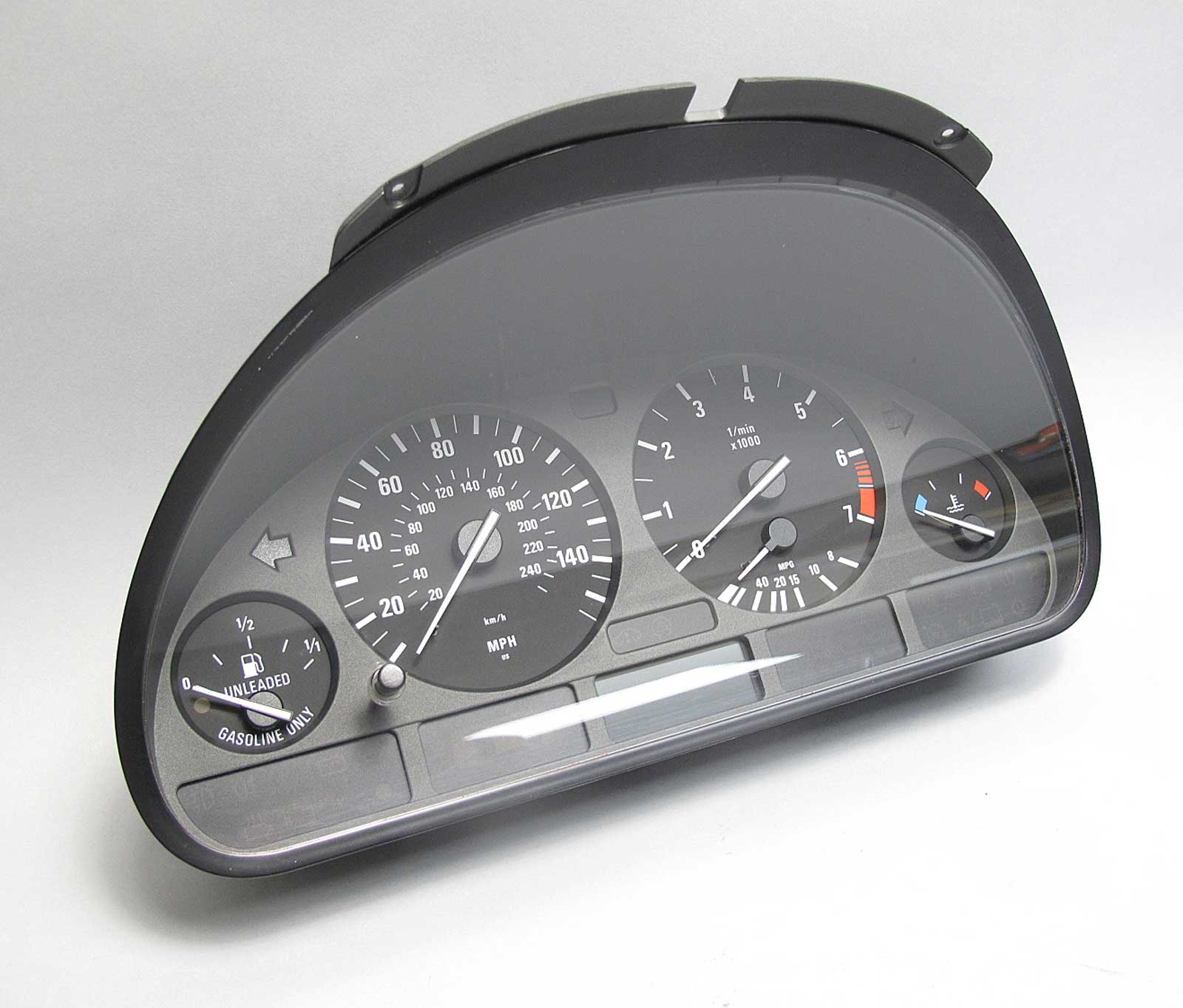 BMW E39 5-Series Factory Instrument Gauge Cluster Panel