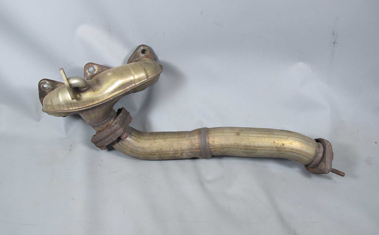 Details about BMW E38 750 E31 850Ci Left Rear Exhaust Manifold w Pipe Bank  2 Cyls 10-12 USED