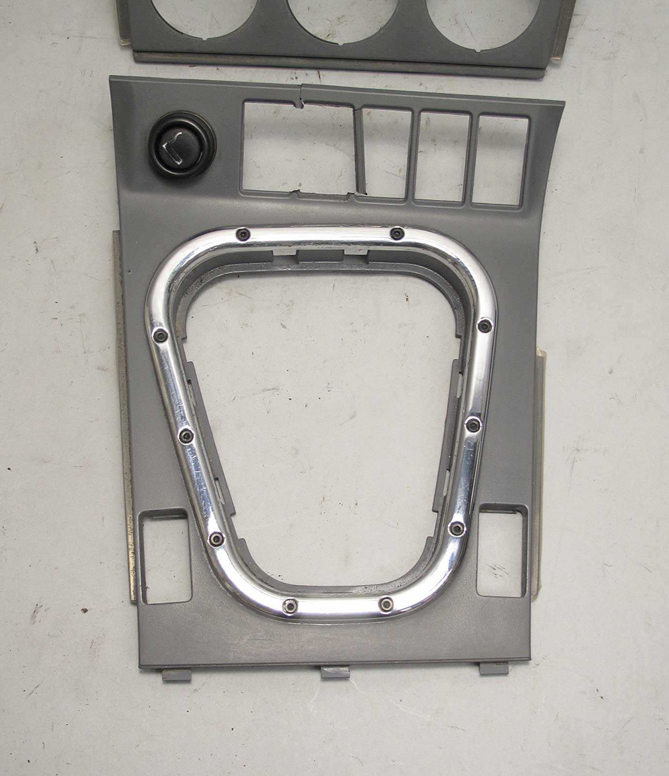 BMW Z3 M Roadster Coupe Front Center Console Gauges Cover