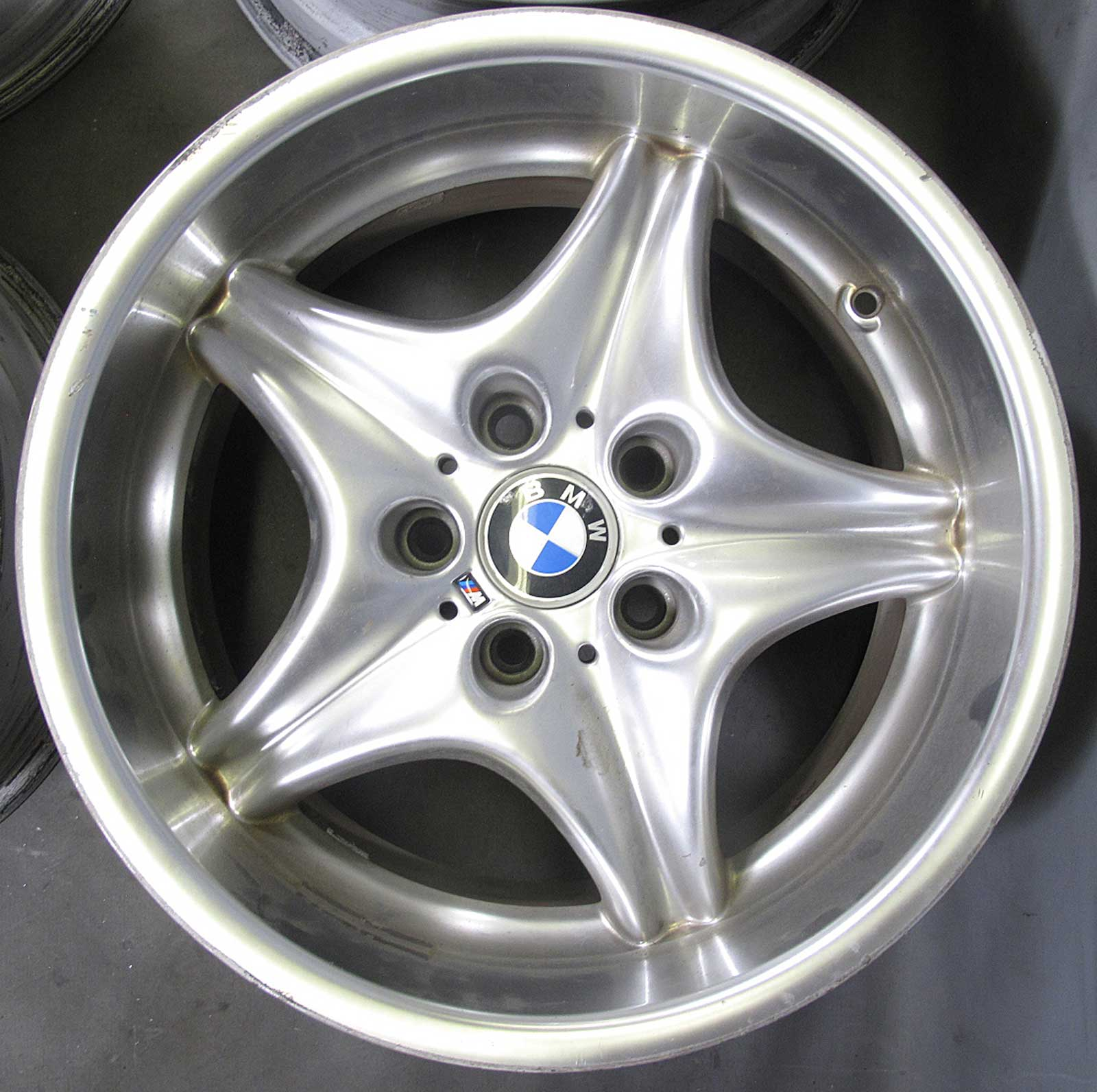 "Bmw Z3 M Wheels: 1998-2002 BMW M Roadster Coupe Factory 17"" Staggered Style"