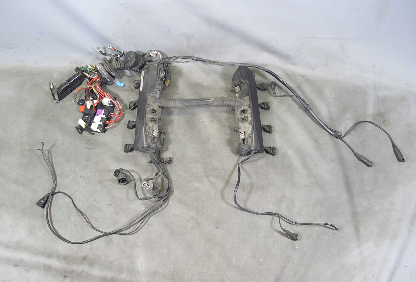 1995 Bmw Wiring Harness Everything About Diagram Z4 Fuse 1994 E34 530i 540i M60 V8 Engine For Manual Rh Cafr Ebay Ca Chewed Up