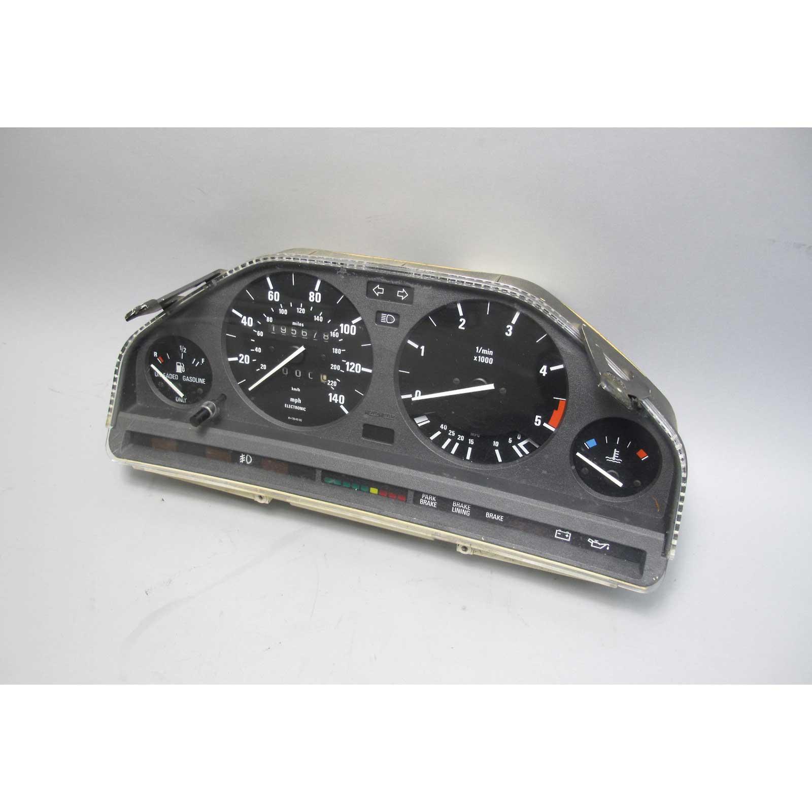 For-Parts BMW E30 318i 325e Instrument Gauge Cluster Panel Speedo ...